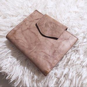 Buxton Cowhide Leather Tan Cream